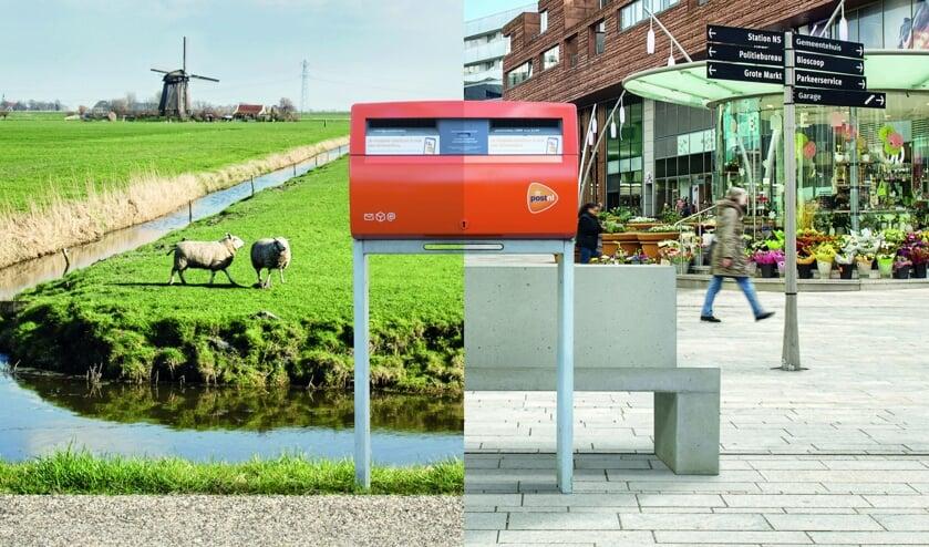 Diverse brievenbussen in de gemeenten Opmeer en Medemblik worden weggehaald.
