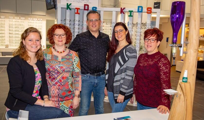 Het team van Aarts Opticien.