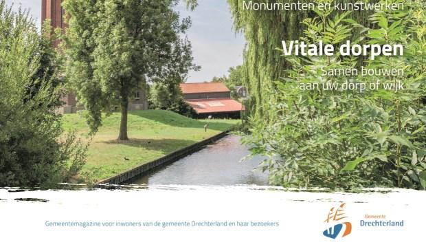 Nieuw gemeentemagazine Drechterland in de bus.