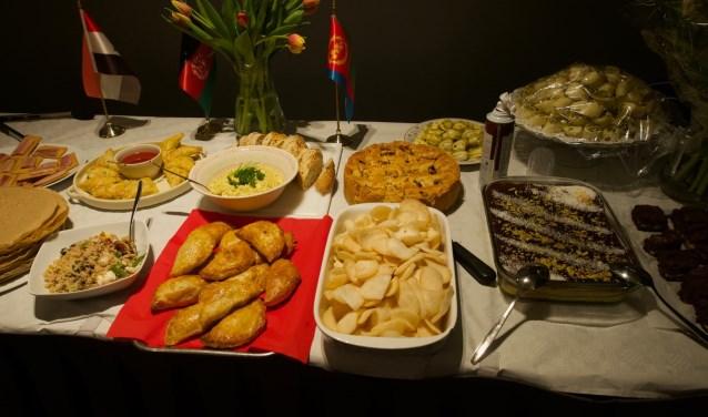 De meest exotische gerechten uit de keuken van het Midden-Oosten en Afrika werden bereid.