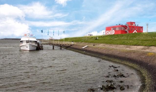 Met ingang van 1 april kunnen bezoekers met de rondvaartboot naar SHIP.