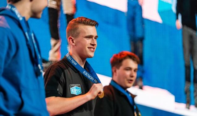 Andijker Robin Berkhout is Nederlands kampioen Skills Heroes.