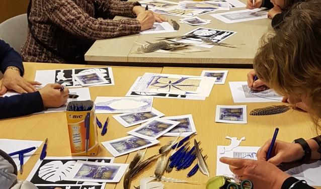 Doe mee met de workshop pen-tekenen bij het Lucasgilde.