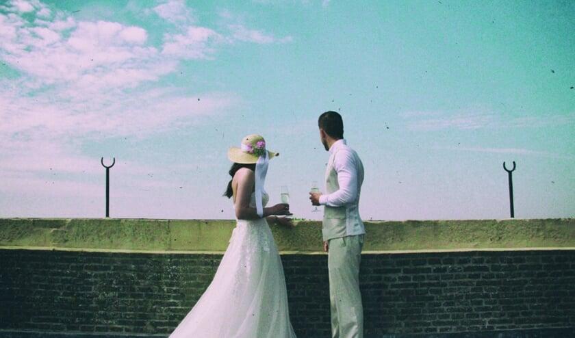 Open trouwdag in Enkhuizen.