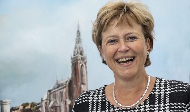 Burgemeester Marjan van Kampen-Nouwen van gemeente Schagen.