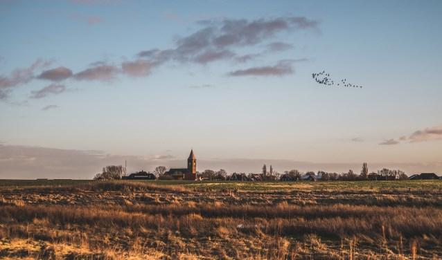 De Michaelskerk in Oosterland is een week lang een tijdelijk atelier.