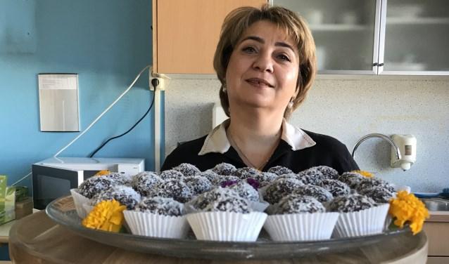 Manager en chefkok Huda Almalouf van Rock the Kasbah. (Foto: Aangeleverd) © rodi