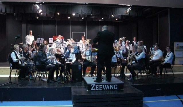 Zeevangsfanfare in concert