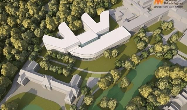 Noordwest Ziekenhuis mag verbouwen op de huidige locatie.