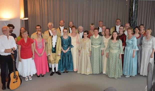 Volkskunstgroep Canteclaer.