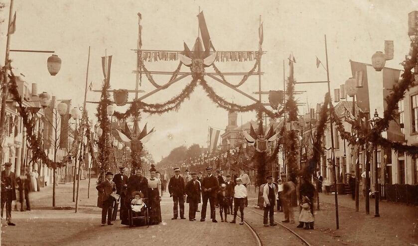 Volksfeesten waren er vroeger ook al in Beverwijk.