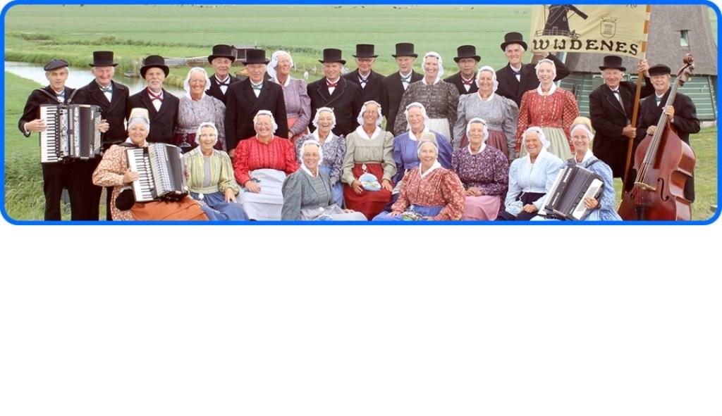 Oud Westfriese Dansgroep Wijdenes. (Foto: aangeleverd) © rodi