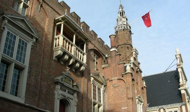 Het stadhuis van Haarlem.