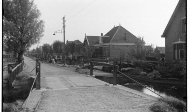 Zuideinde Oostzaan.