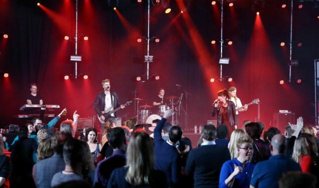 Het muziekfestival is gezellig en voor het goede doel.