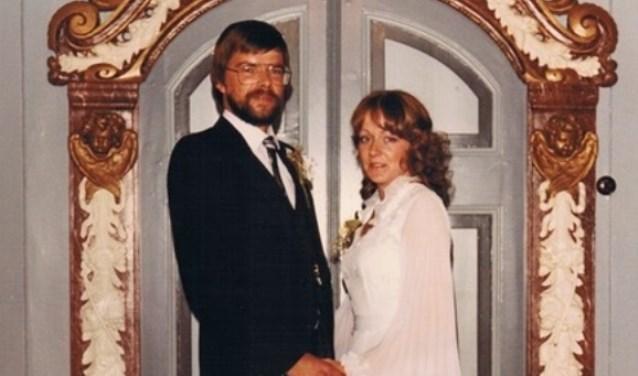 Co van Gelder en Magda Klostrouwden 11 juni 1981 in het raadhuis, Wormer.