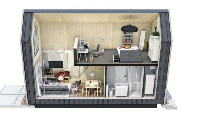 Gemeente heeft voor Tiny Houses twee locaties in beeld.