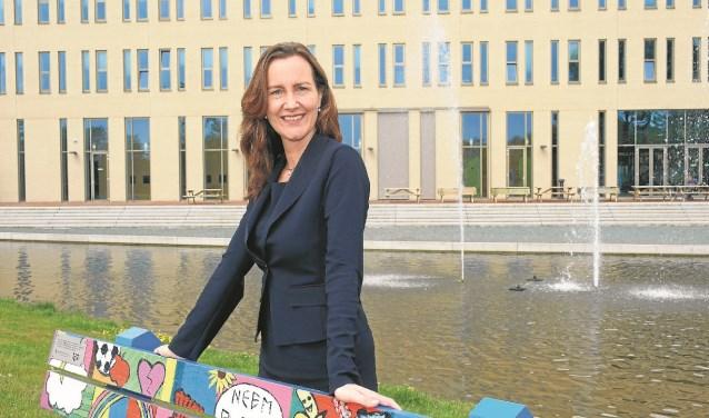 Mieke Baltus gaat voor een volgend termijn als burgemeester.
