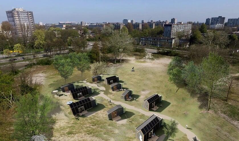 Tiny TIM's zijn verplaatsbare duurzame woningen.