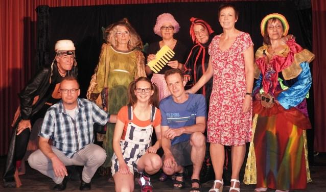 PostiljoenTheaterProducties speelt de familievoorstelling 'Op Reis'.