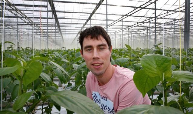 Arnaud van Dijk is blij met de subsidie.