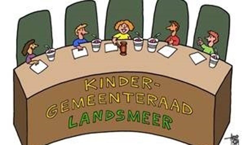 De kindergemeenteraad.