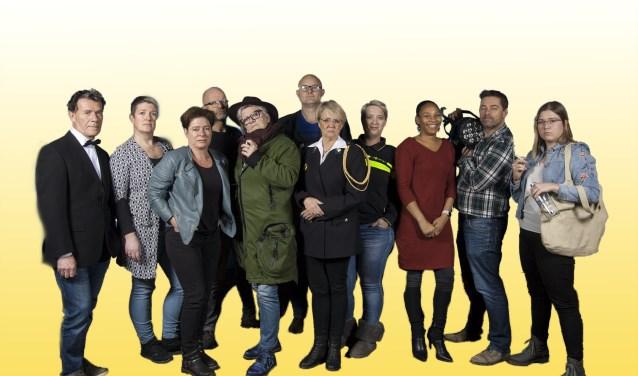 De cast van De Cock.
