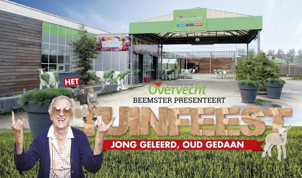 Eenzame ouderen worden tijdens feestelijke braderie in het zonnetje gezet bij Tuincentrum Overvecht Beemster.