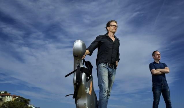 De Nederlandse cellist Karel Bredenhorst.