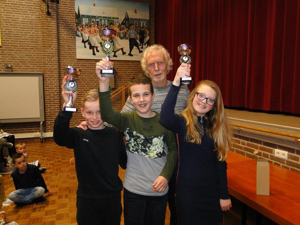 Winnaars van de Dirk Kes-competitie  © rodi