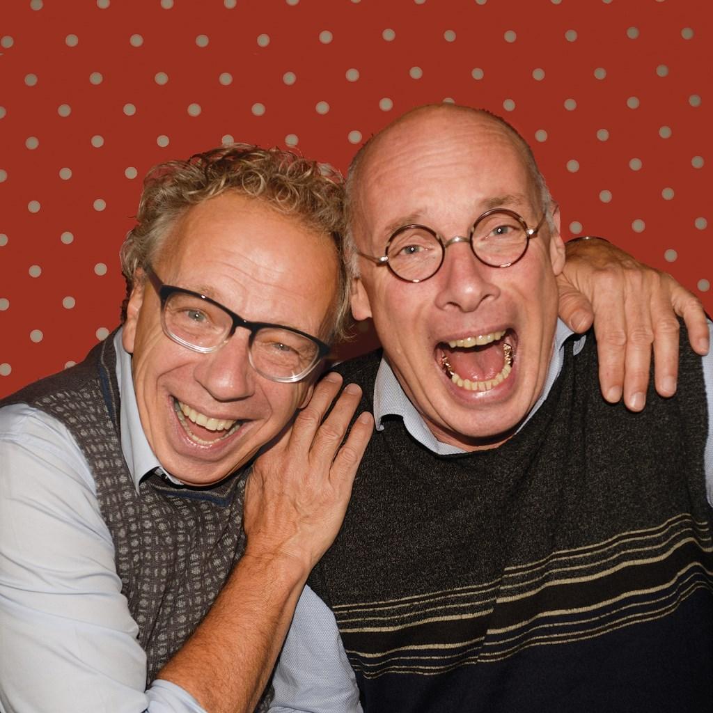 Bruun en Jan treden op in Theaterkerk Wadway.