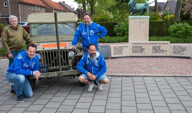 De heer de Blanken van Museum Collectie '39-'45, Joost Naberman, Willem Witte en Mike Jongerius nodigen jong en oud van harte uit de vrijheid te delen op zondag 5 mei!