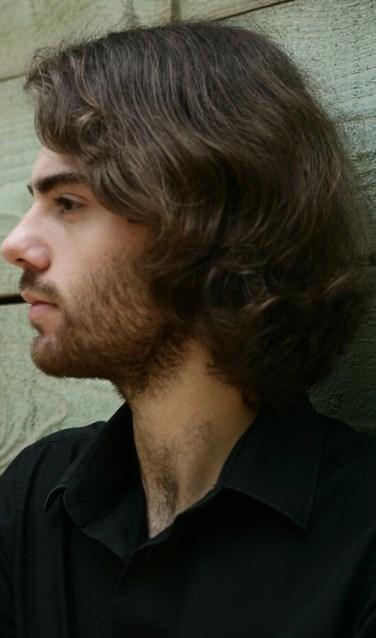 Organist Nicholas Papadimitriou.