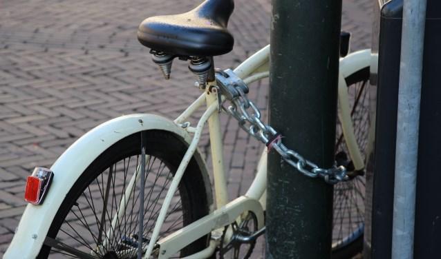 Zet je fiets liefst met twee sloten op slot.