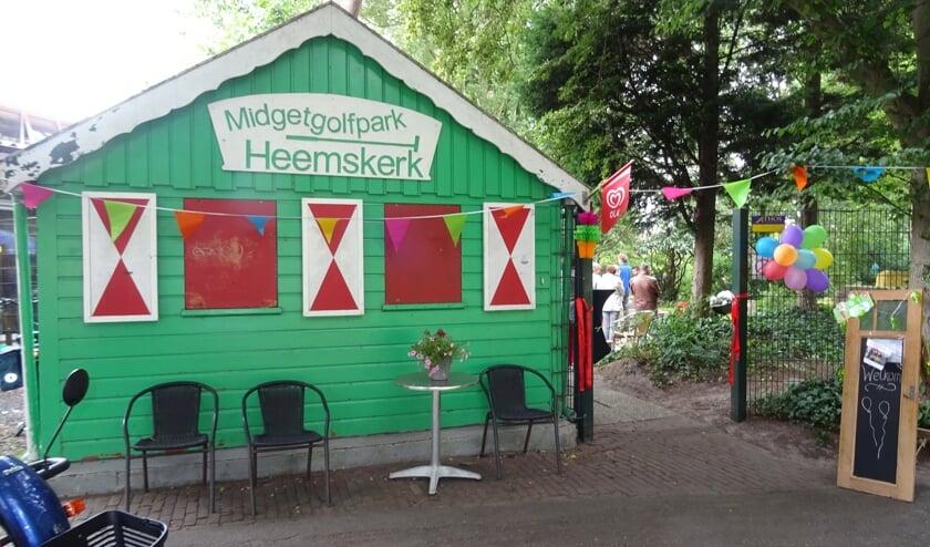 Het gaat weer beginnen bij Midgetgolfpark Heemskerk.