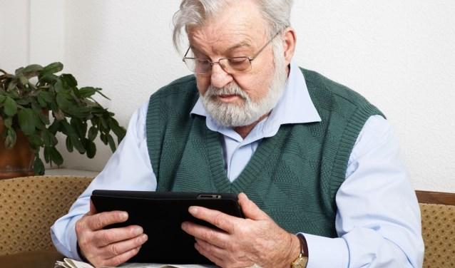 Bezoek digitale maandag en wordt wegwijs met de tablet.