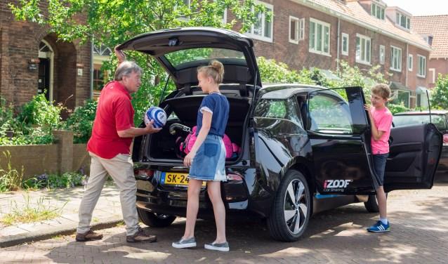 Dankzij iZoof Car Sharing is het bewonersinitiatief met Spaarnelanden een groot succes.