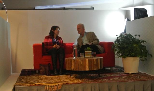 Vrijdag was notaris Helma Bokhorst de gaste in het programma 'Aan Tafel Met...' Ze werd geïnterviewd door oud-burgemeester Jan Hoekema.