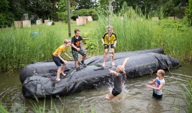 Als van obstakels houdt, kun je terecht bij Outdoorpark Alkmaar.