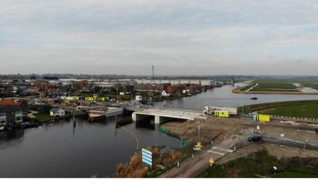 Amaliabrug bij West-Knollendam.
