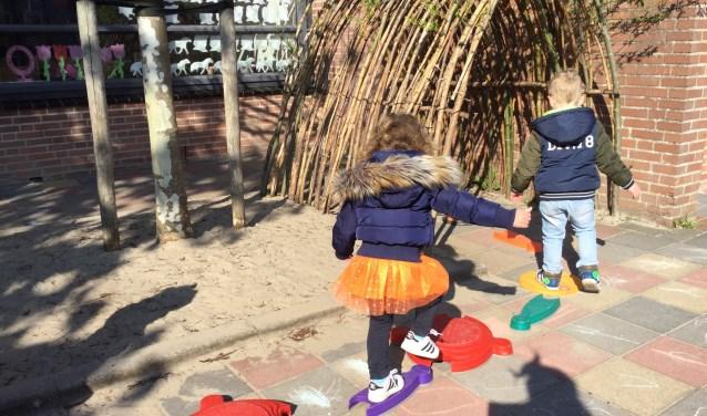 Net als op de basisscholen deden de peuters van de Kinderopvang Langedijk ook mee aan de Koningsspelen.