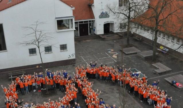 Een grootse viering voor de Beatrixschool.