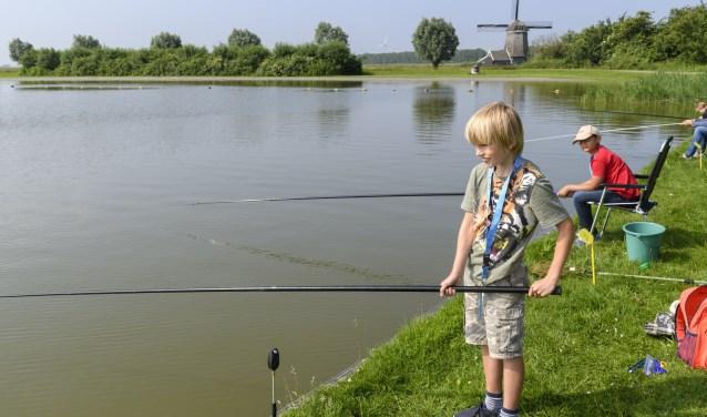De clinic is voor ervaren en niet-ervaren jeugdvissers.