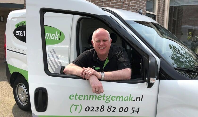 Peter Denkers levert maaltijden aan huis, nu ook in de Beemster.