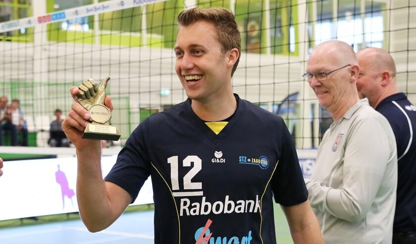 Lars de Boer met De Duim.