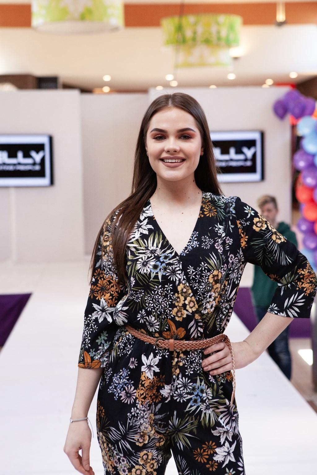 Danuta Pylypenko is het Fashion Model van 2019 geworden.  (Foto: Hoofddorp Winkelstad) © rodi