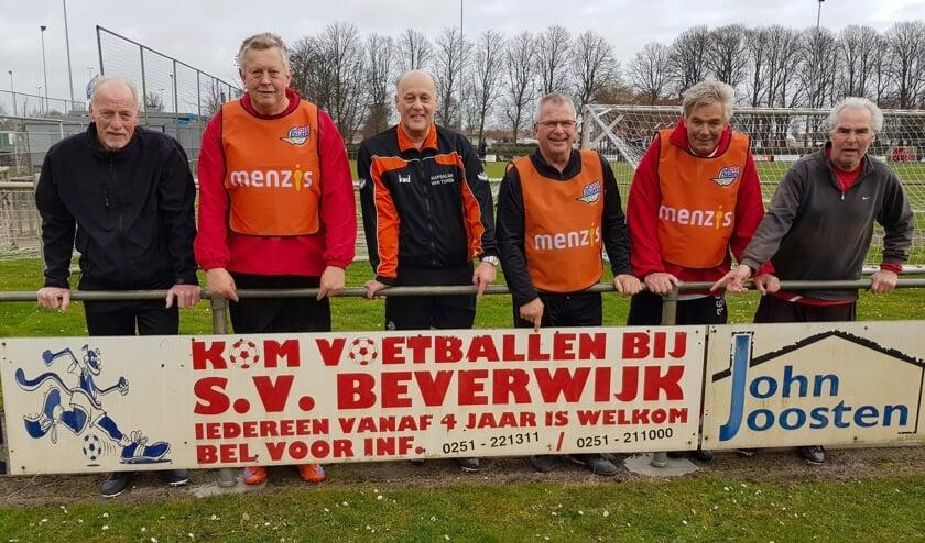 Walking football bij sv Beverwijk.