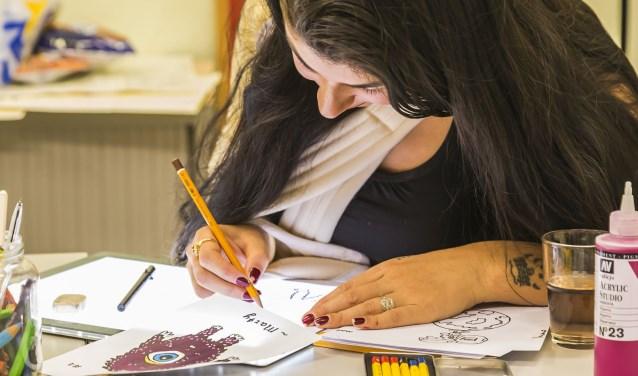 Bij Het FluXus Productieteam kunnen jongeren zich creatief uitleven.