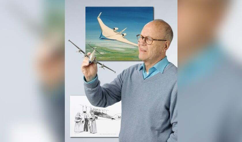 Thijs Postma maakte voor Kunst en Vliegwerk zestig nieuwe schilderijen en tekeningen.
