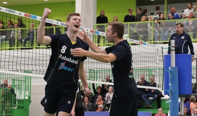 Jannes van der Ham vertrekt bij Heren 1 Volleybalvereniging Zaanstad.